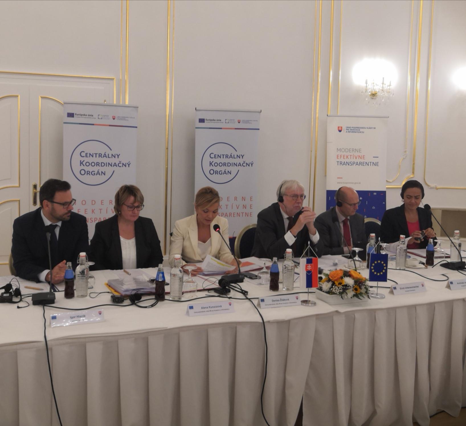 Členovia Národného monitorovacieho výboru zhodnotili aktuálny stav eurofondovej politiky