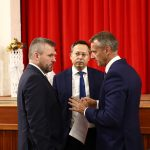 Peter Pellegrini a Richard Raši