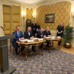 Zasadnutie a podpis memoranda
