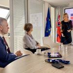 Stretnutie s Gabriellou Cseh na Úrade podpredsedu vlády SR pre investície ainformatizáciu