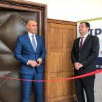 Richard Raši na slávnostnom otvorení informačno-poradenského centra v Humennom