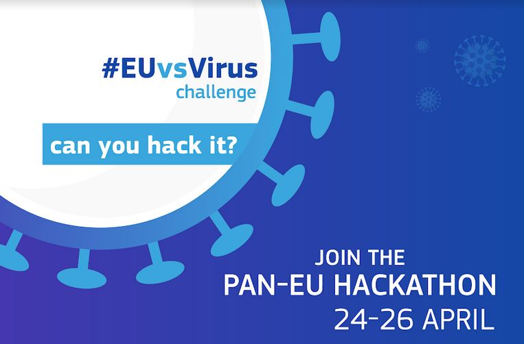 Celoeurópsky online hackathon proti COVID-19