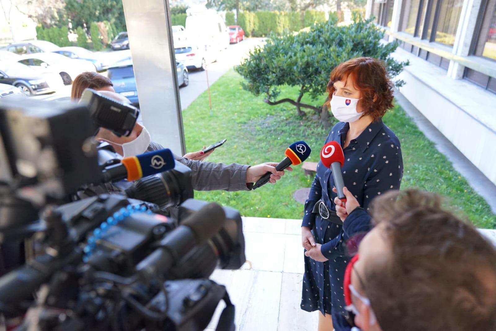 Vicepremiérka Remišová presadila požiadavky Slovenska v Európskej komisii v rámci opatrení proti koronavírusu