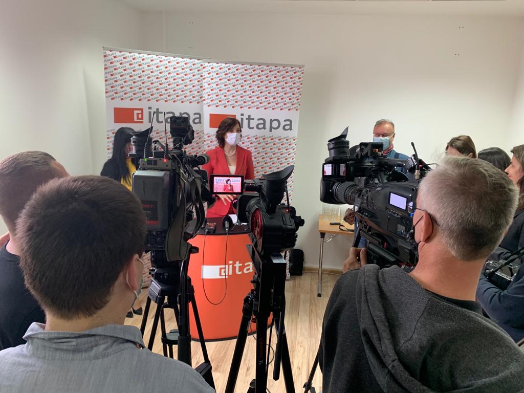 Veronika Remišová predstavila svoje priority v oblasti IT na jarnej ITAPE