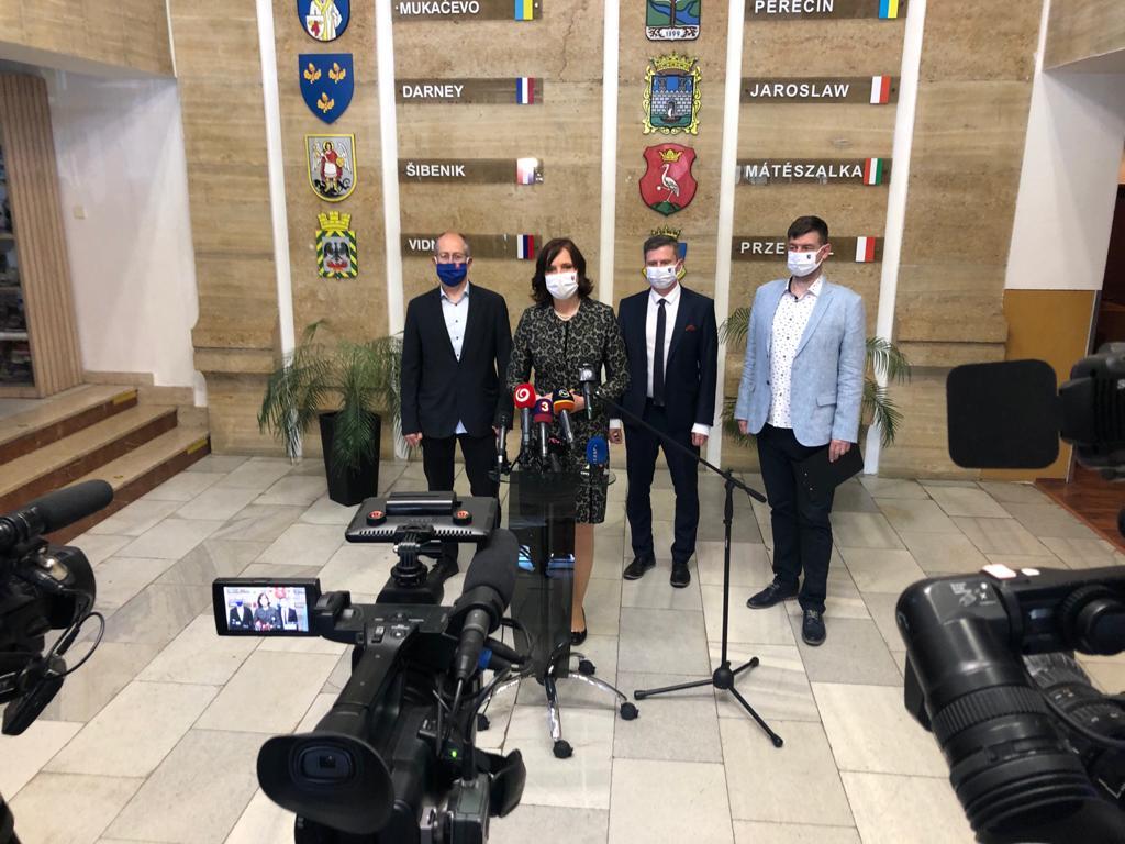 Vicepremiérka Veronika Remišová navštívila Humenné a rokovala o záchrane pracovných miest