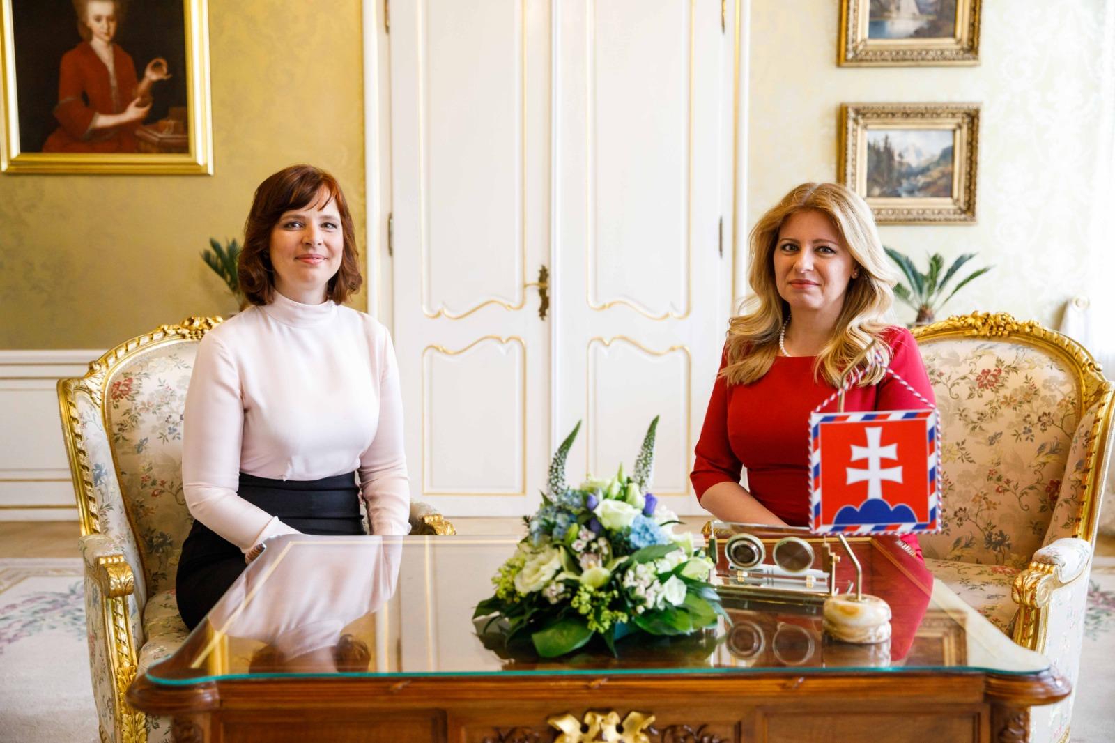 Vicepremiérku Remišovú prijala na prvom pracovnom rokovaní prezidentka Zuzana Čaputová