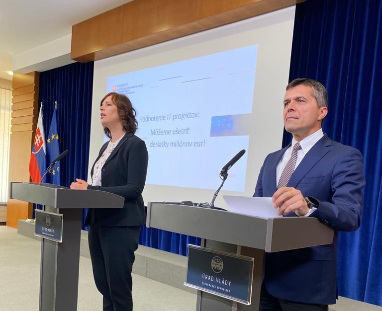 Vicepremiérka Remišová po hodnotení IT projektov:  Ušetriť sa dajú desiatky miliónov eur
