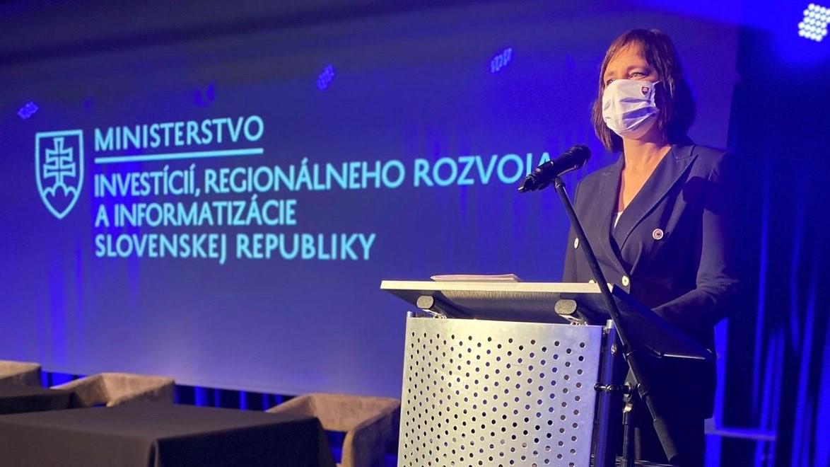 Vicepremiérka Remišová odštartovala fungovanie spoločnosti Slovensko IT, a.s.