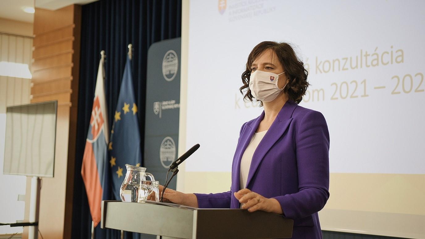 Vicepremiérka Remišová vyzýva odbornú i laickú verejnosť na Národnú konzultáciu k eurofondom