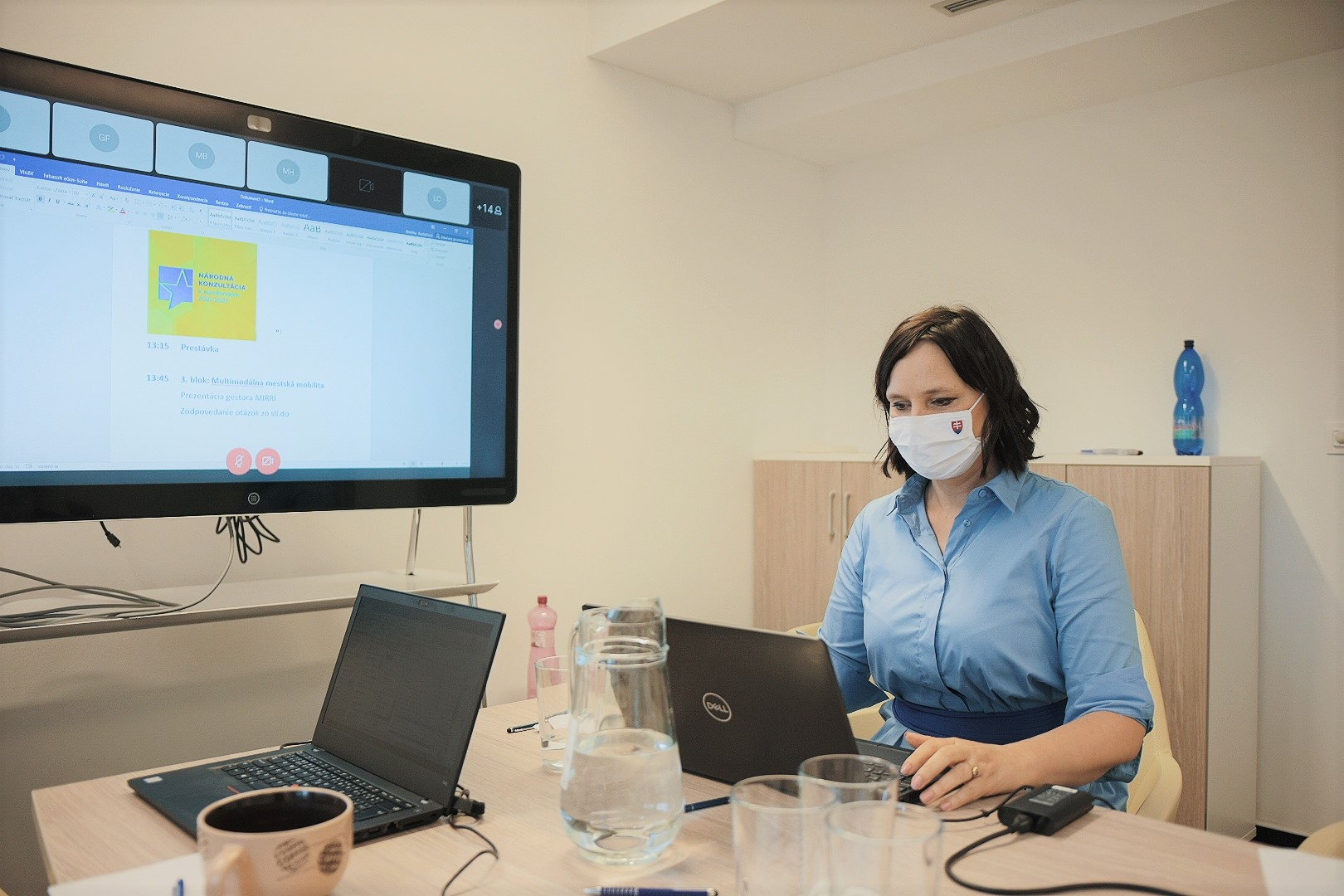 Vicepremiérka Remišová odštartovala prvé online kolo Národnej konzultácie k eurofondom