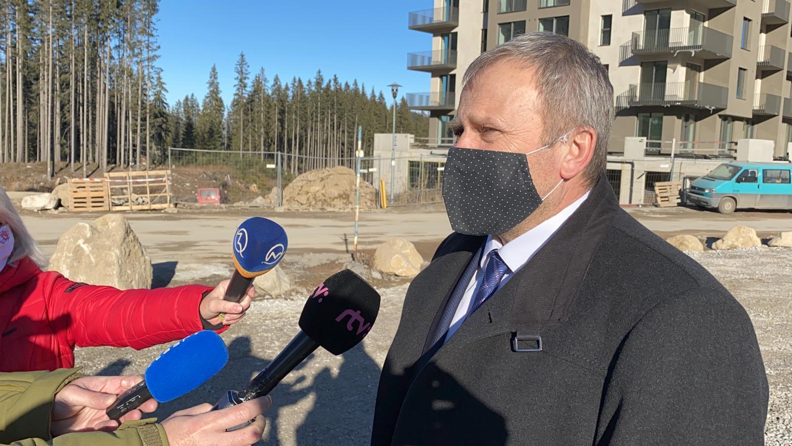 V. Ledecký: Súčasťou regionálneho rozvoja je podpora cestovného ruchu, situácia v Demänovskej doline je však kritická