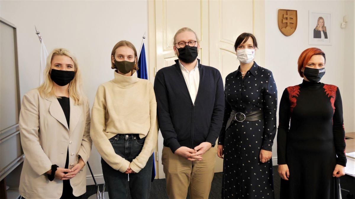 Vicepremiérka Veronika Remišová prijala zástupcov iniciatívy Klíma ťa potrebuje
