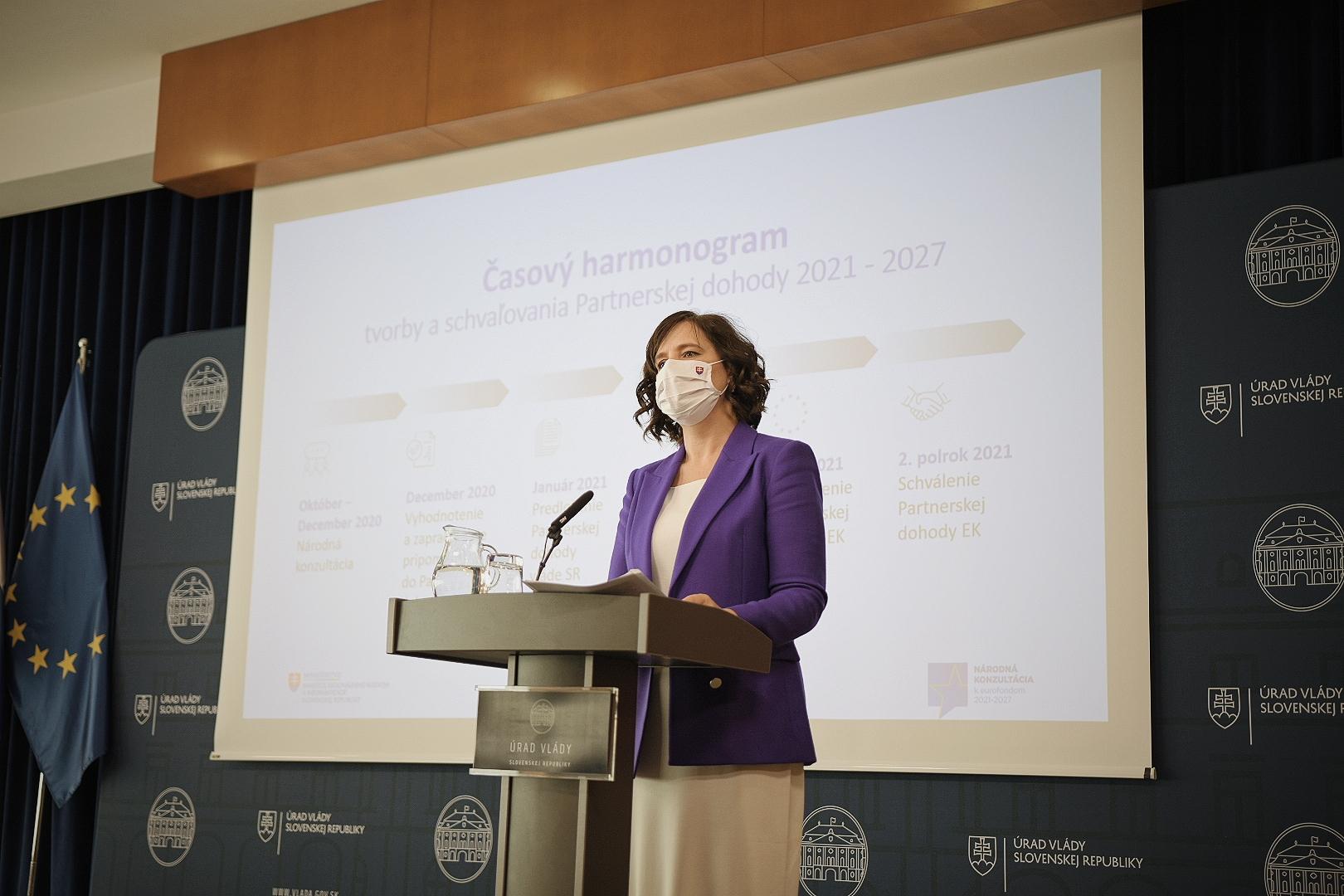 Veronika Remišová pripravila novelu zákona o eurofondoch, ktorá prináša viac transparentnosti a zjednodušuje čerpanie