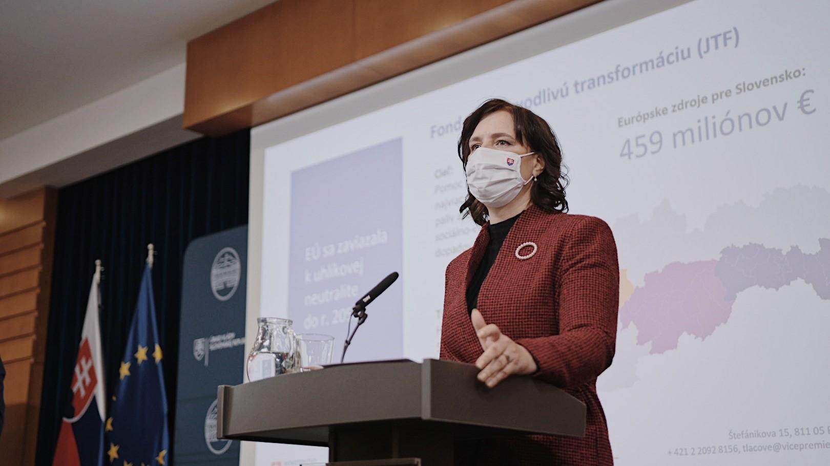459 miliónov eur pre hornú Nitru a ďalšie tri regióny: Vicepremiérka Remišová predstavila Plán spravodlivej transformácie