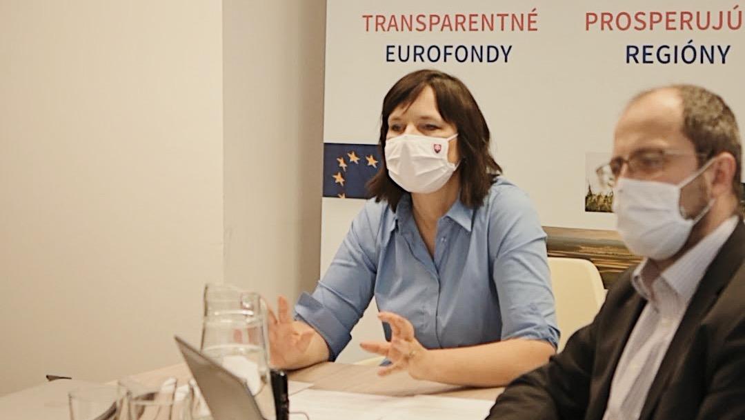 Vicepremiérka Remišová: Slováci využili šancu ovplyvniť eurofondy, Národná konzultácia má už vyše 900 účastníkov