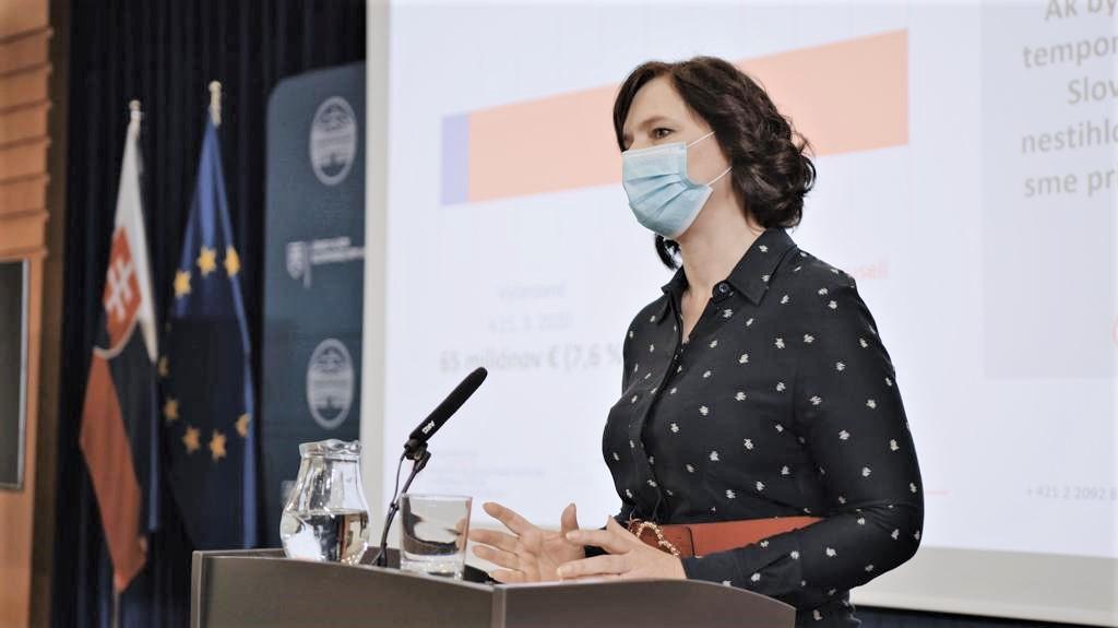 Vicepremiérka Remišová: Z eurofondov sme v roku 2020 zachránili stovky miliónov eur!
