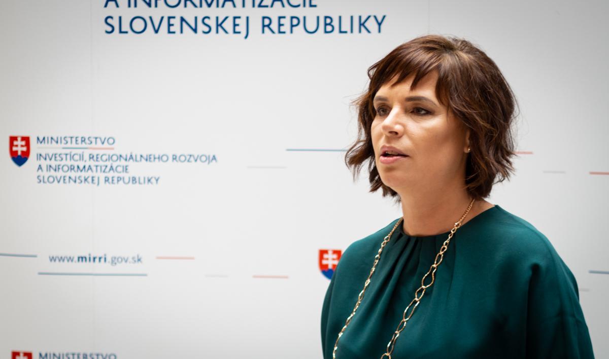 Ministerka Remišová: Pokračujeme v budovaní štátneho IT, hľadáme kvalitných odborníkov