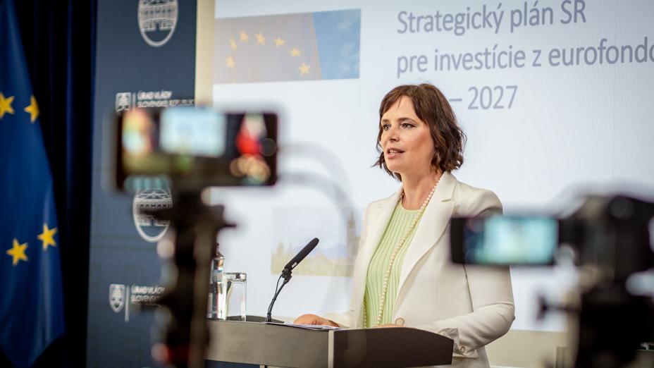 Vicepremiérka Remišová: Novela zákona o eurofondoch zjednoduší a zrýchli čerpanie