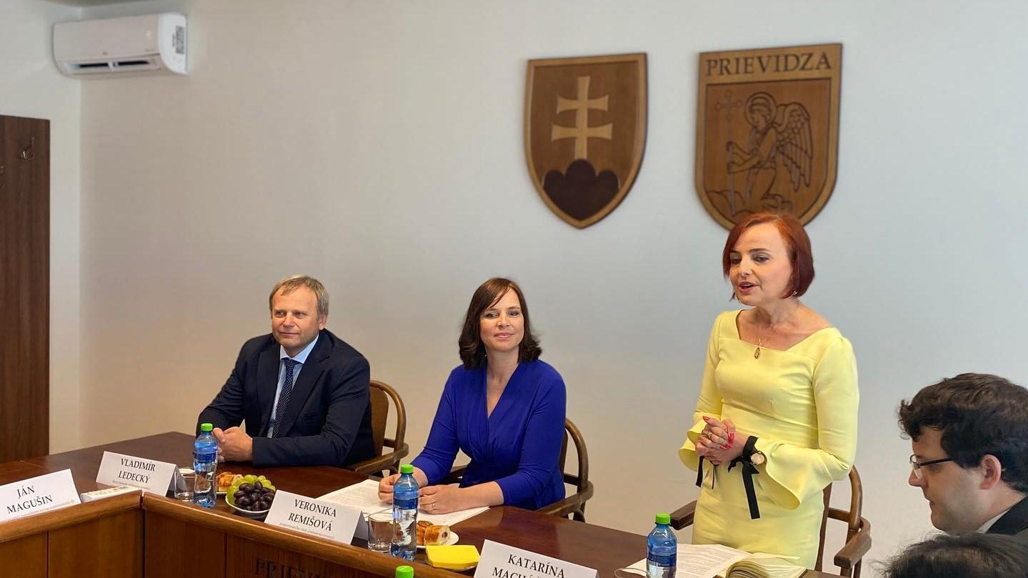 Vicepremiérka Remišová: Transformácia hornej Nitry ide podľa plánu, vlani sme rozbehli projekty za takmer 55 miliónov eur