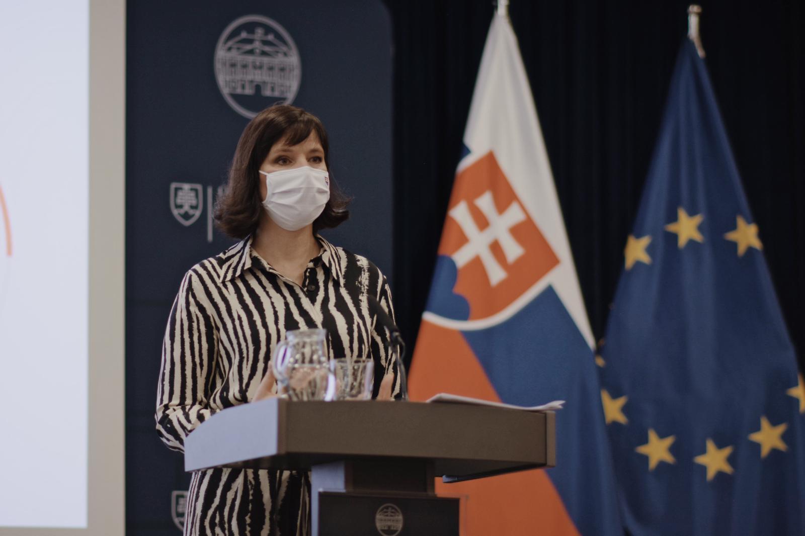 Vicepremiérka Remišová o eurofondoch v roku 2020: Boj o každé euro prináša výsledky, čerpanie sme zvýšili o 1,9 miliardy