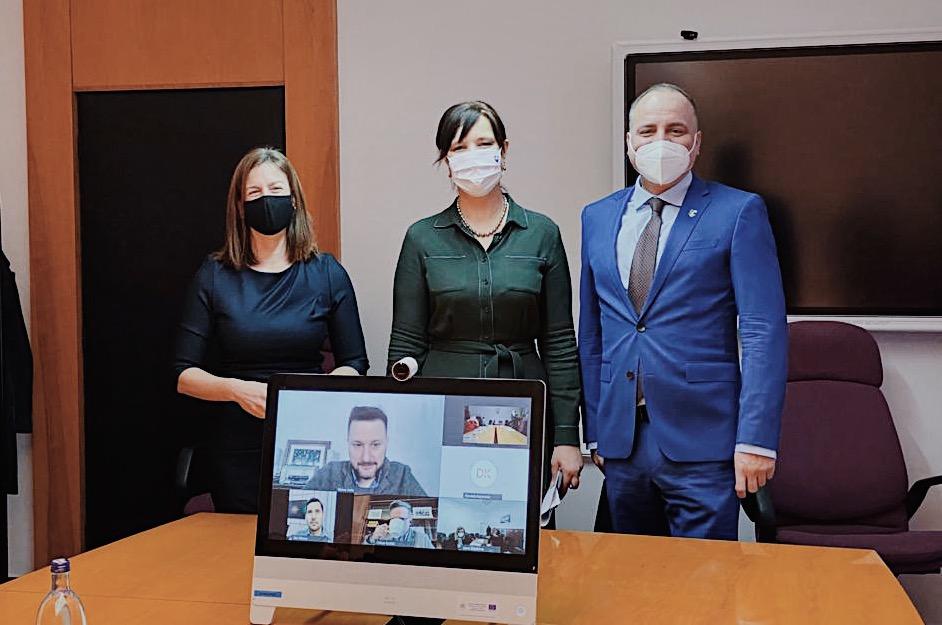 Vicepremiérka Remišová rokovala s ministerkou kultúry Milanovou, županom Drobom a primátorom Vallom o využívaní eurofondov v bratislavskom regióne