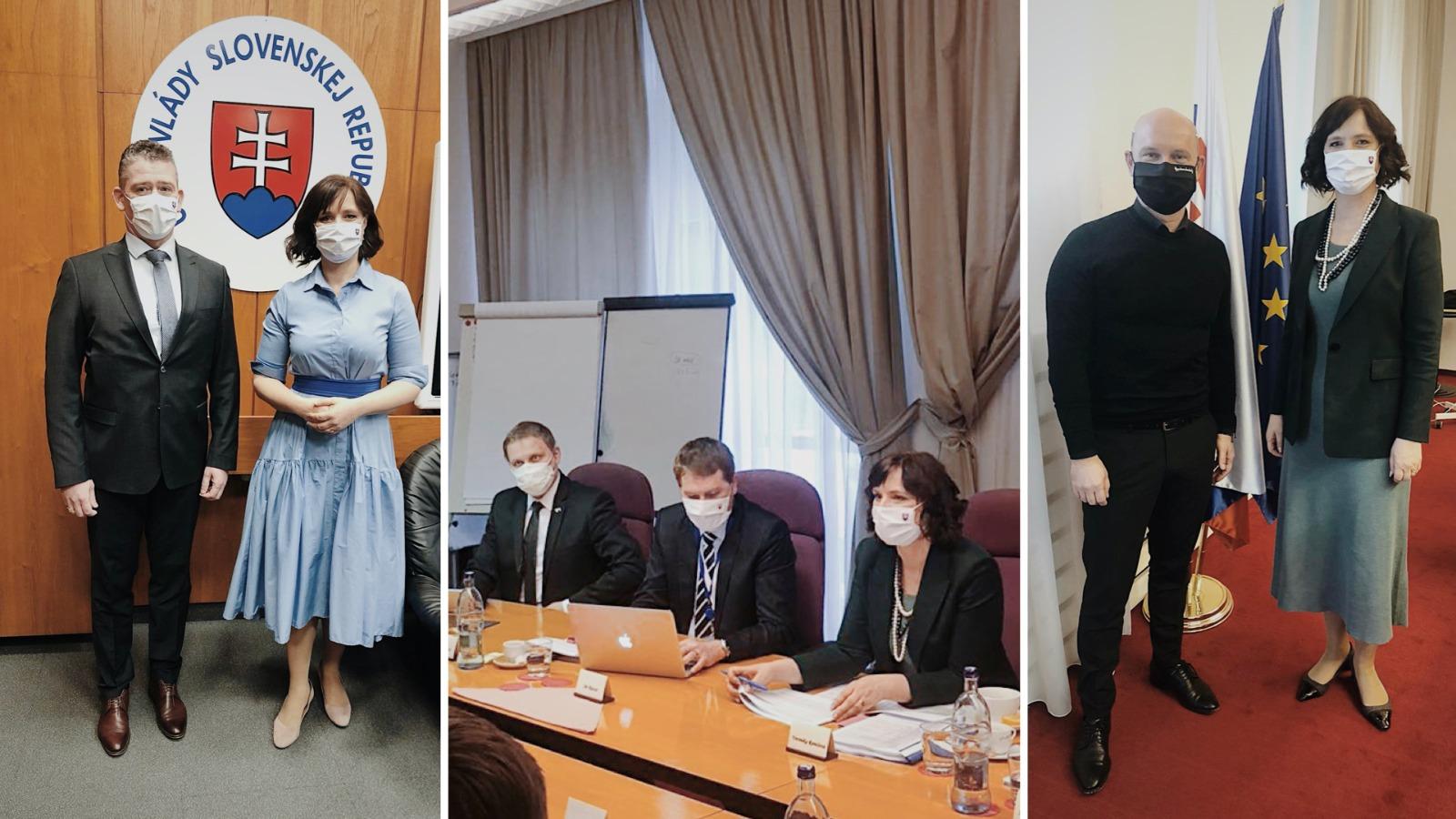 Vicepremiérka Remišová rokovala s ministrami o ich prioritách pri čerpaní eurofondov