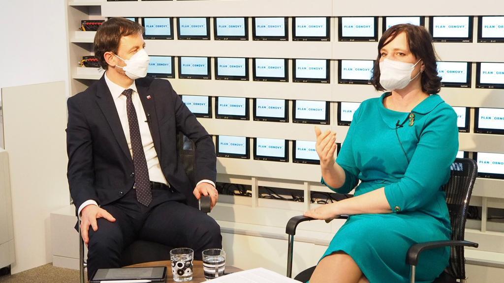 Vicepremiérka Remišová predstavila priority digitalizácie  v Pláne obnovy a odolnosti