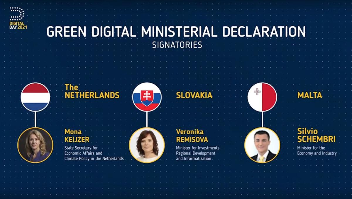 Slovensko deklarovalo svoje záväzky v oblasti digitálnych inovácií na prestížnom podujatí Digital Day 2021