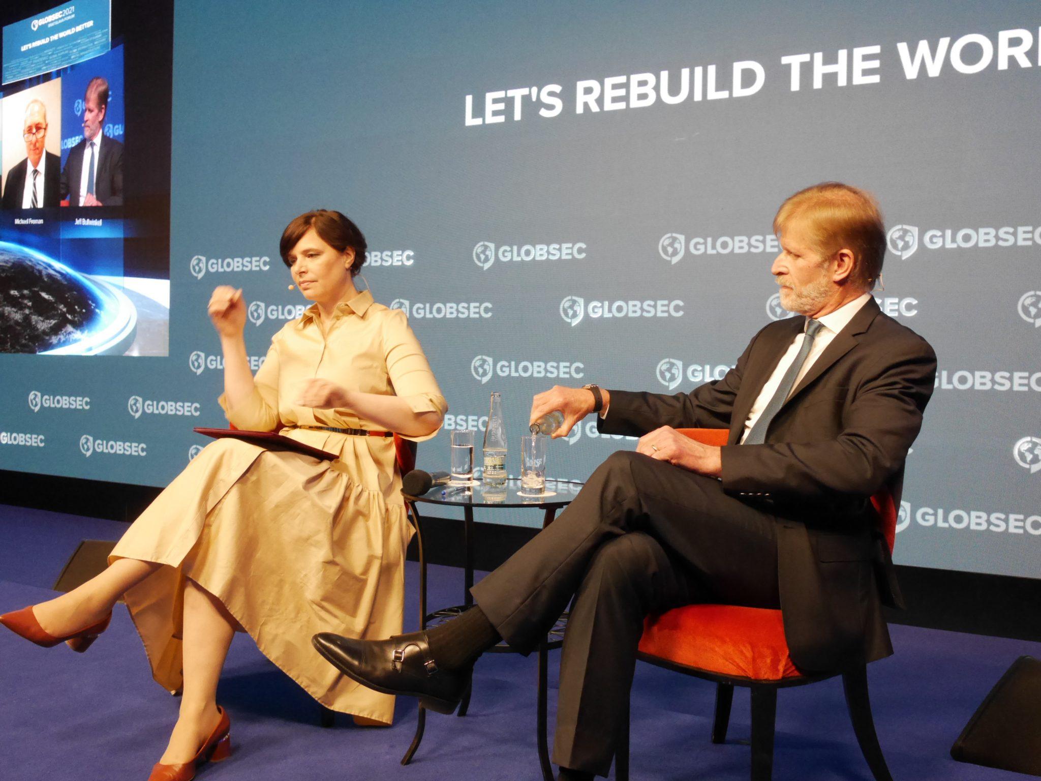 Ministerka Remišová na konferencii GLOBSEC 2021: Vytvárame podmienky na úspešnú budúcnosť Slovenska, lepšie platené pracovné miesta a zvýšenie kvality života ľudí