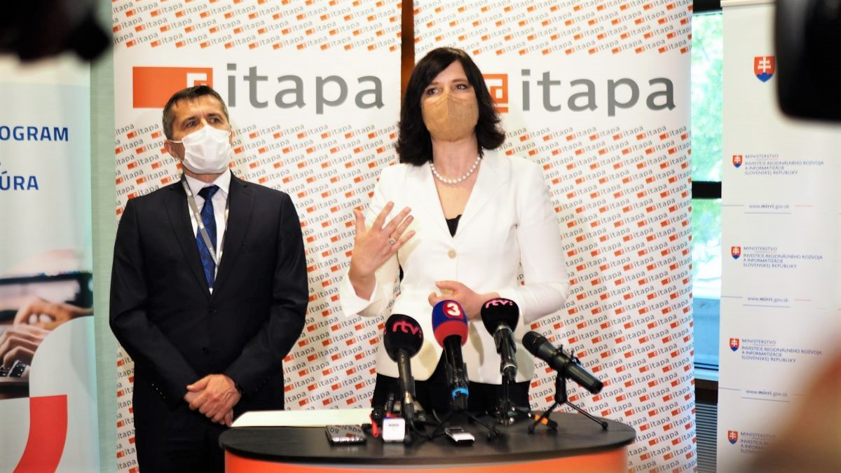 Ministerka Remišová na konferencii ITAPA 2021: V informatizácii sme za rok spravili kus práce a čakajú nás ešte veľké výzvy