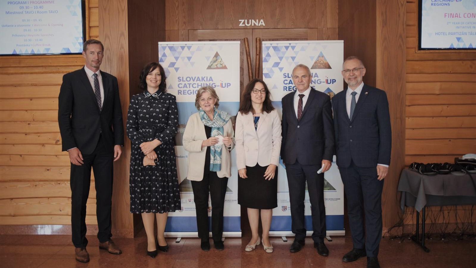 Iniciatíva Catching-up pomáha menej rozvinutým regiónom, ministerka Remišová pridáva peniaze na prípravu eurofondových projektov