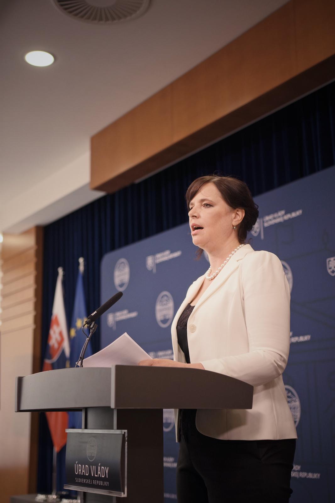 Vicepremiérka Remišová: Utajovaný IT projekt bývalej vlády preverí polícia